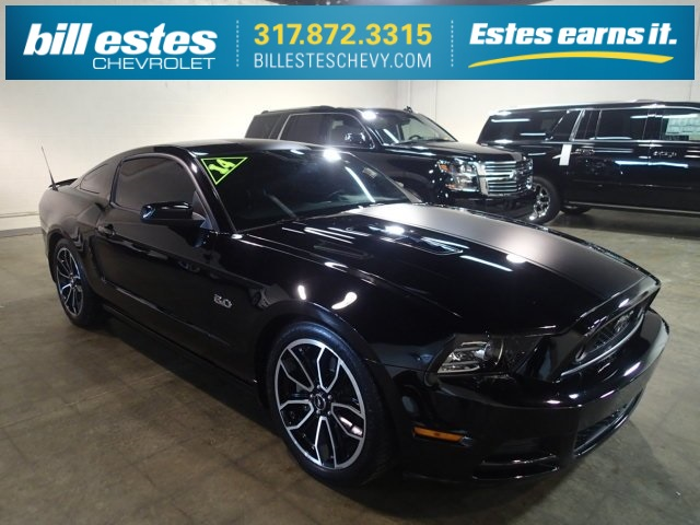 Pre Owned 2014 Ford Mustang Gt Premium 2d Coupe Near Zionsville