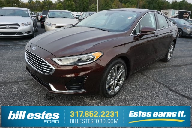 New 2019 Ford Fusion Sel 4d Sedan Near Zionsville C9012 Bill